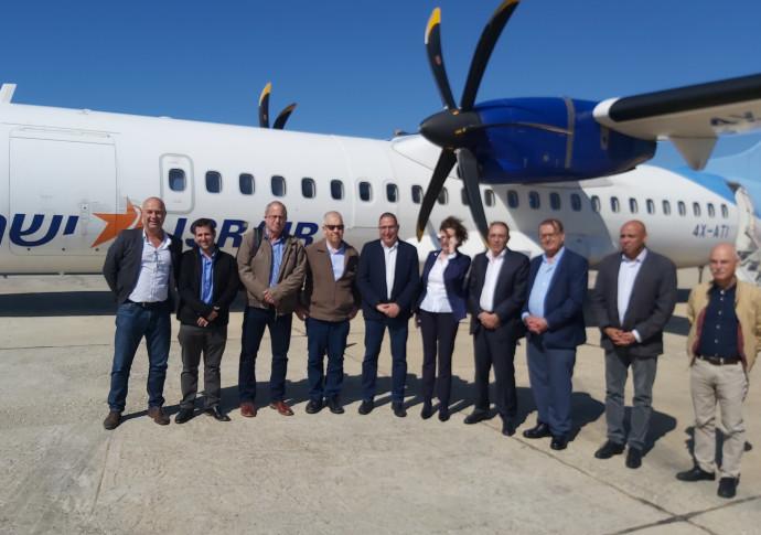 ראשי הרשויות בדרך לקפריסין