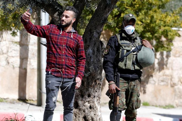 קורונה ברשות הפלסטינית