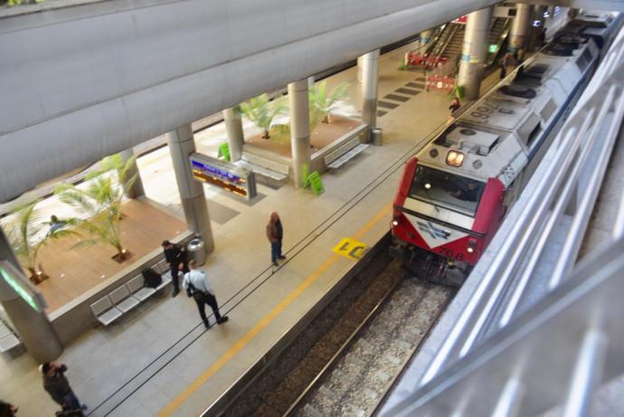 """הרכבת בנתב""""ג בעקבות משבר הקורונה"""