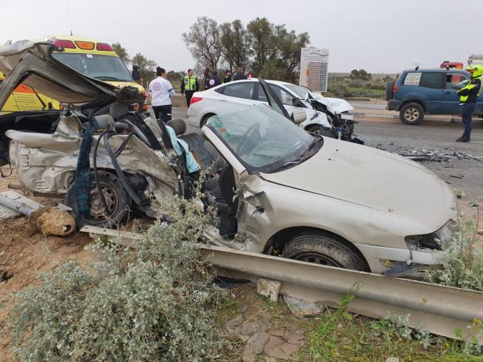 התאונה בכניסה לבאר שבע