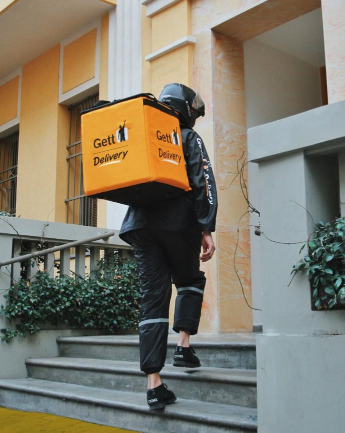 שליח של Gett Delivery, ארכיון (למצולם אין קשר לנאמר בכתבה)