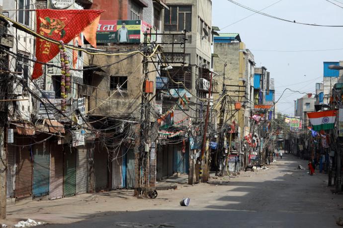 רחוב נטוש בדלהי