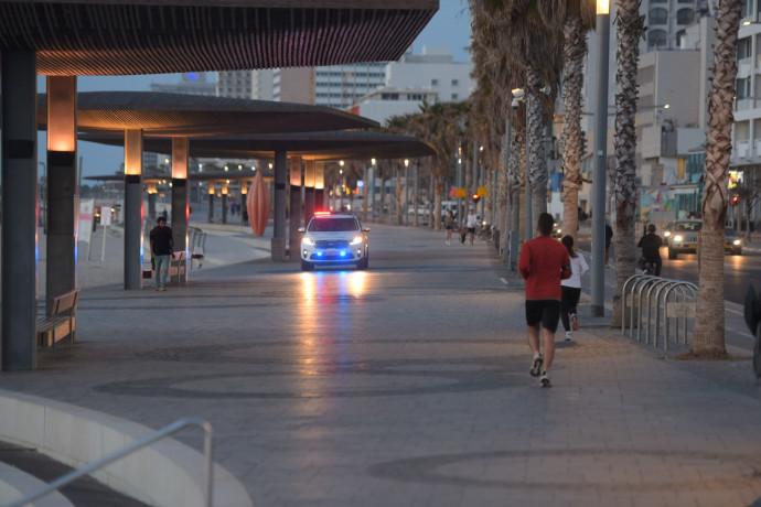 תל אביב בעוצר בשל הקורונה