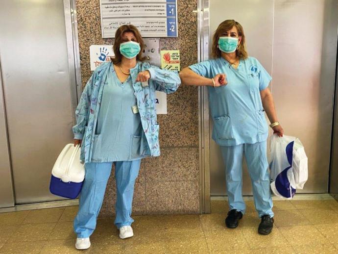 קורונה - צוות עזר רפואי