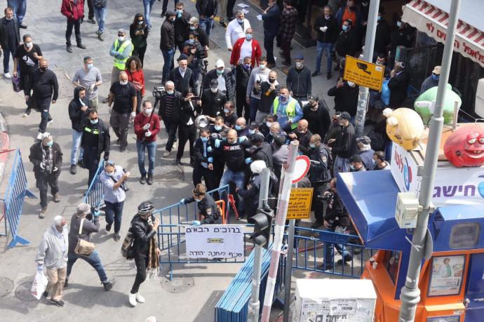 המחאה בשוק מחנה יהודה