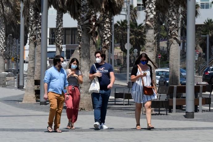 קורונה בישראל - למצולמים אין קשר לנאמר בכתבה