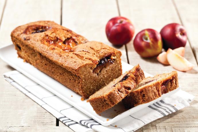עוגת תפוחים וגרנולה