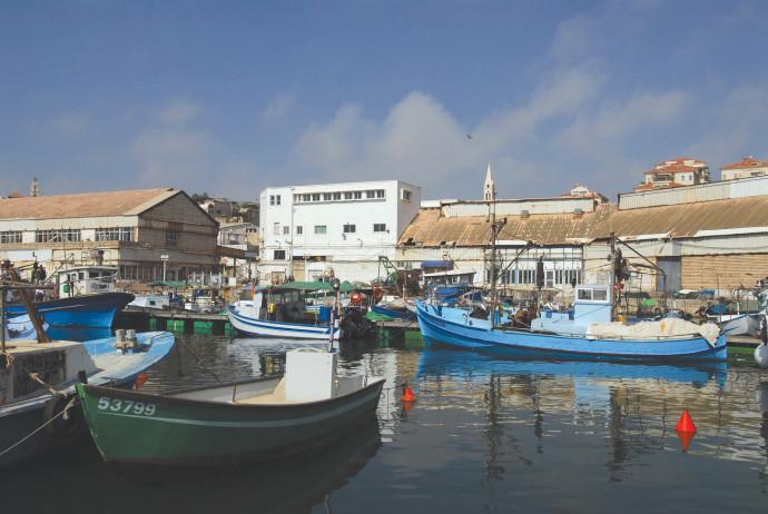 סירות דייגים ביפו