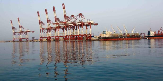 נמל שאהיד רג'עאי באיראן