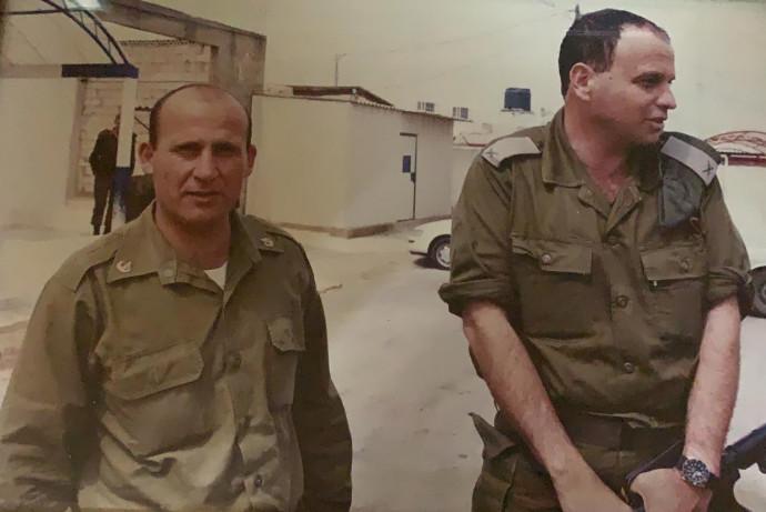 """עימאד אבוריש ותא""""ל ארז גרשטיין שנהרגו בדרום לבנון"""