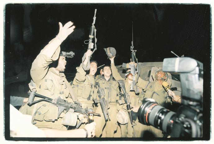 היציאה מלבנון, מאי 2000