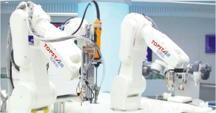 רובוטים בפעולה