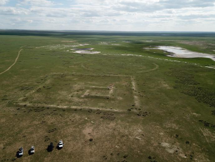 שרידי החומה במונגוליה