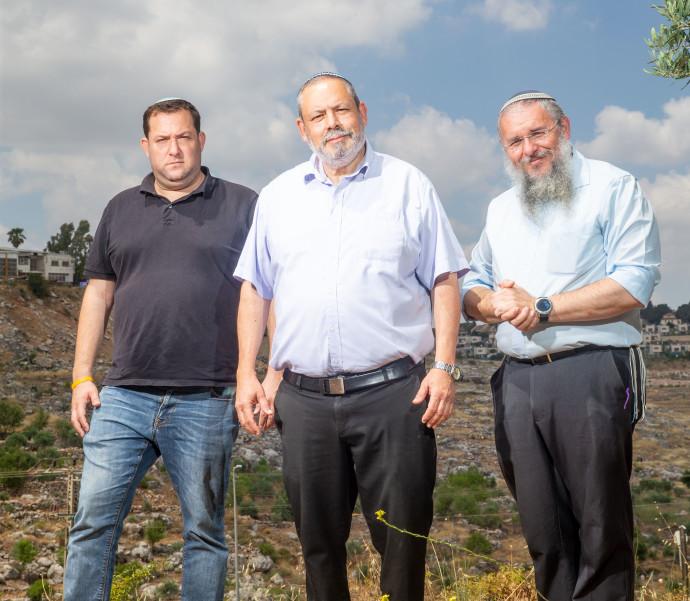 שלמה נאמן, יוחאי דמרי ויוסי דגן