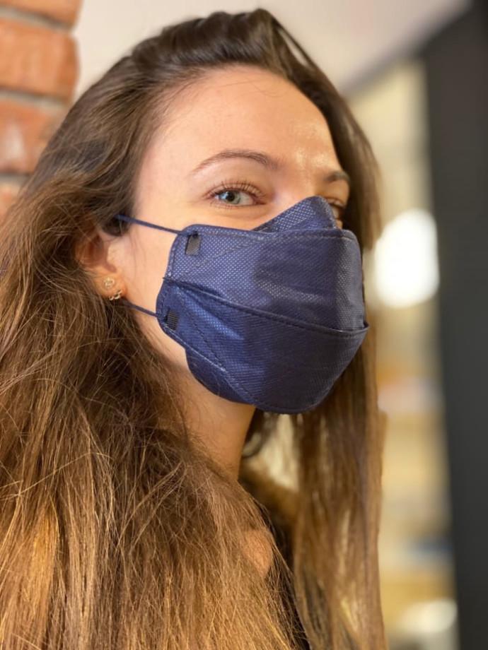 לנשום ברמה אחרת. נשמית עם רמת סינון KN95