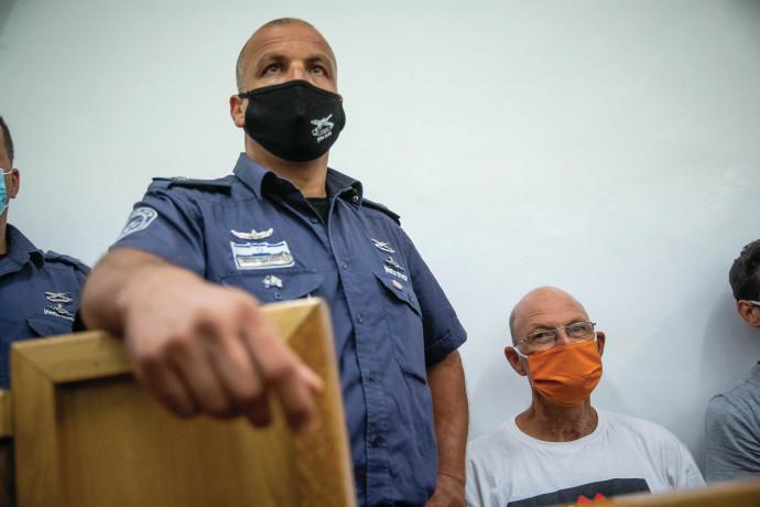 אמיר השכל בדיון בהארכת מעצרו