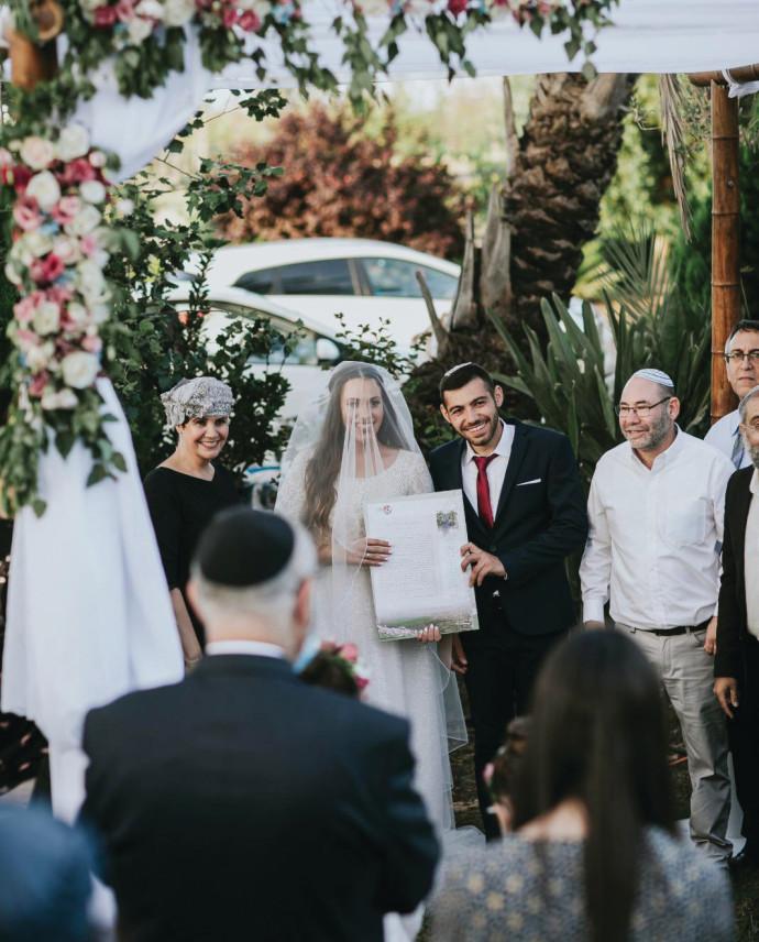 חתונת חצר בימי קורונה