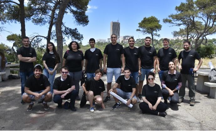 הסטודנטים של מרכז החדשנות באוניברסיטת חיפה