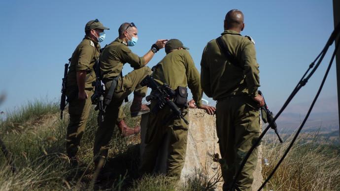 """כוננות צה""""ל בגבול הצפון מתיחות תדרוך צבאי"""