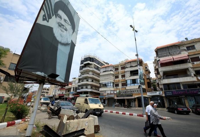 מעוז חיזבאללה בדרום ביירות. עכשו ברור מי הטוב ומי הרע
