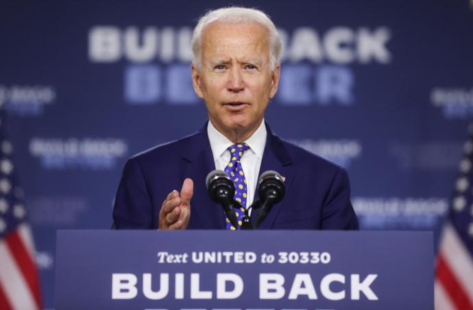 """המועמד הדמוקרטי לנשיאות ארה""""ב ג'ו ביידן"""