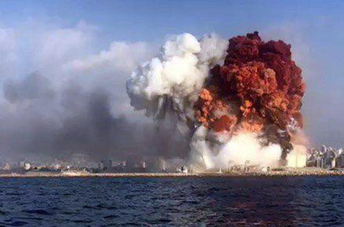 הפיצוצים בנמל ביירות