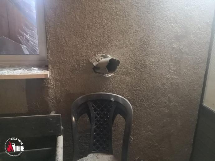 הרקטה שפגעה בבית מגורים בשדרות