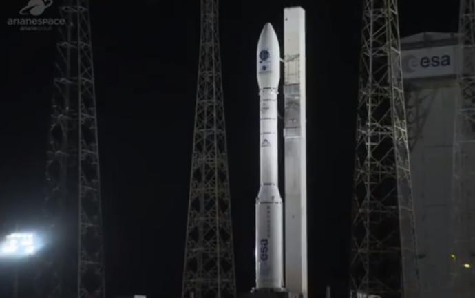 שיגור לווין דידו 3