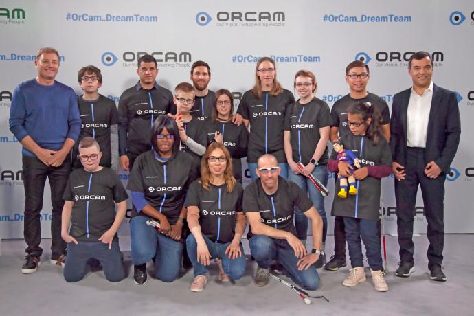 ליאו מסי וה-OrCam Dream Team