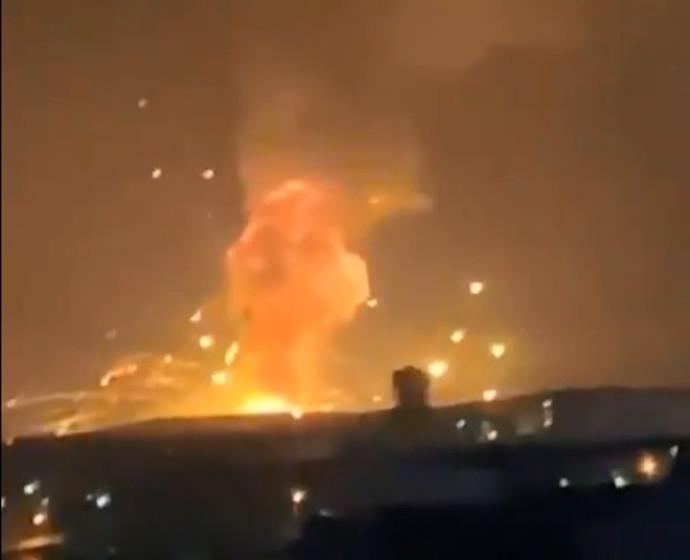 הפיצוץ בעיר זרקא, ירדן