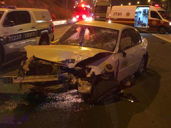 תאונת דרכים סמוך לרמלה