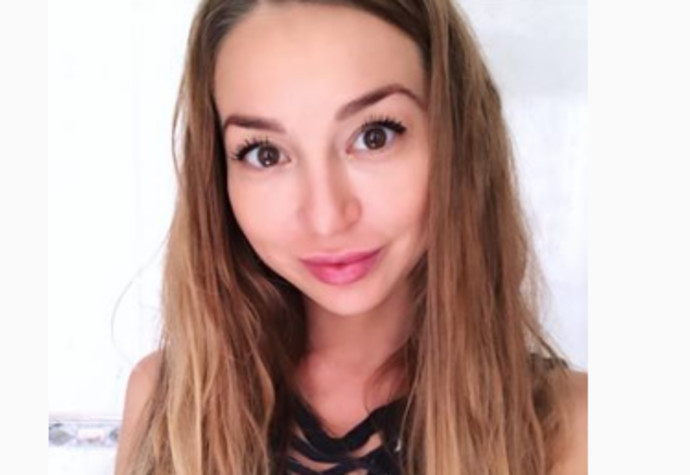 הדוגמנית גלינה פדורובה