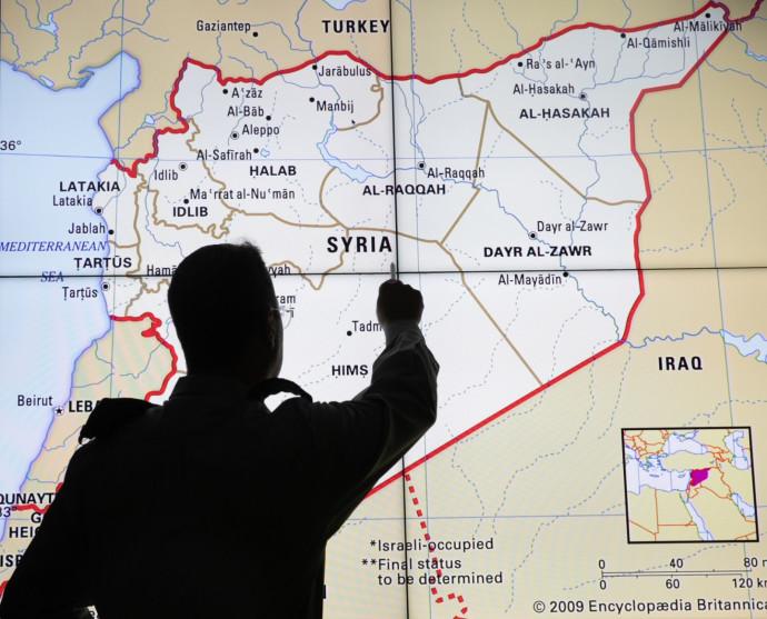 חוקר מודיעין על סוריה