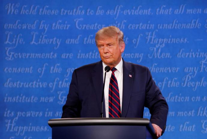 טראמפ בעימות