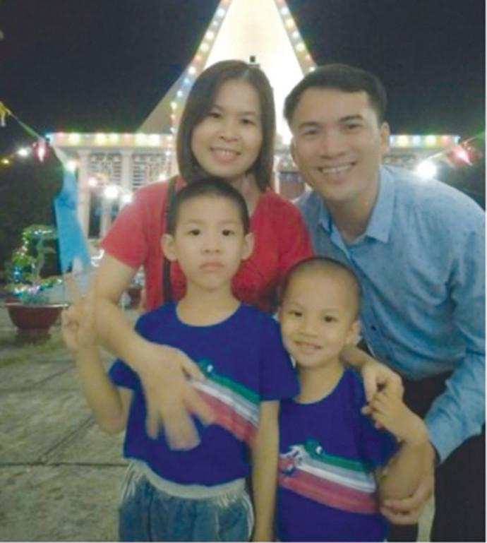 נגויין ננג טין ומשפחתו