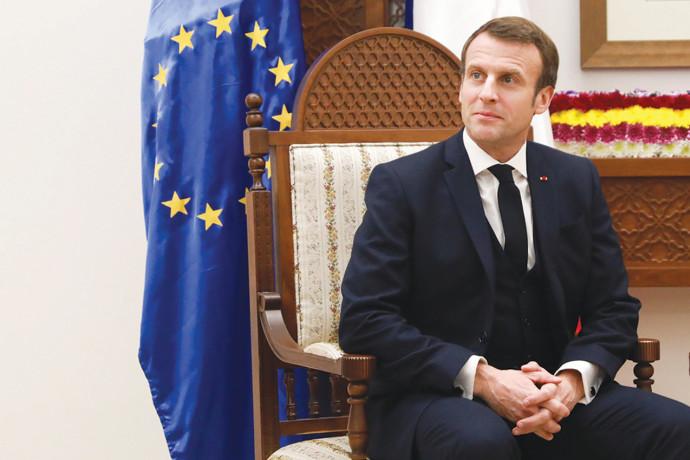 עמנואל מקרון נשיא צרפת