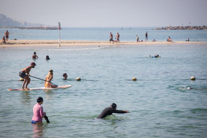 קורונה בישראל: חוף הים בימי הקורונה