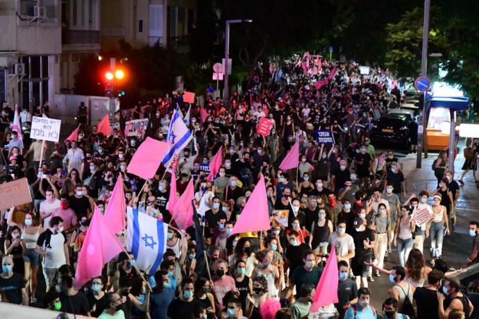 תהלוכת המחאה בתל אביב