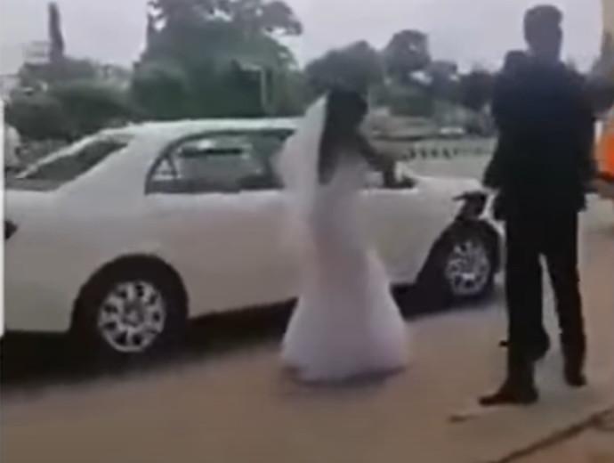 הכלה עוזבת את החתן לאחר הגילוי