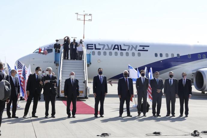 המשלחת הישראלית ממריאה לבחריין