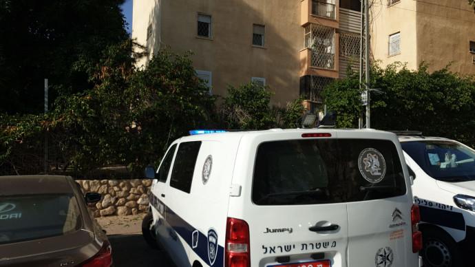 זירת הרצח בבאר שבע