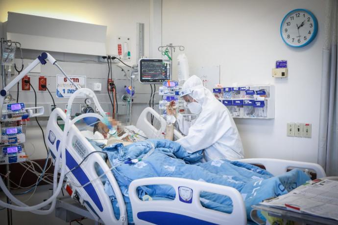מטופל במחלקת קורונה רופא אחות