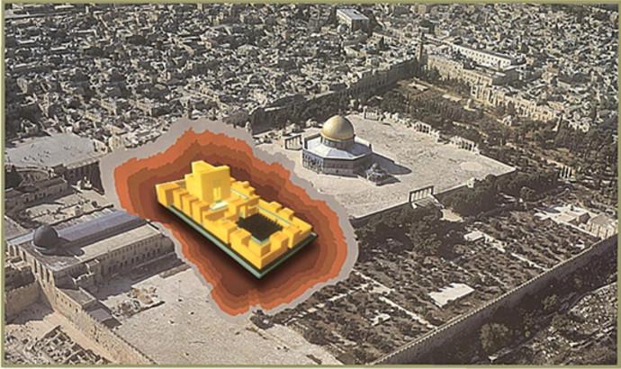 מו המדוייק של בית המקדש על פי האדריכל טוביה שגיב