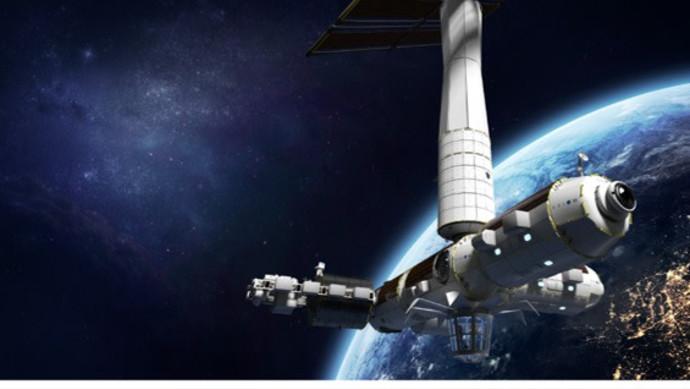 """כדור הארץ מהחלל. סטיבה יגיע לתחנת החלל הבינ""""ל"""