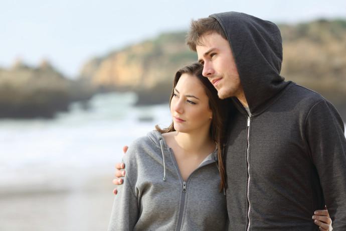 זוג צעיר, אילוסטרציה