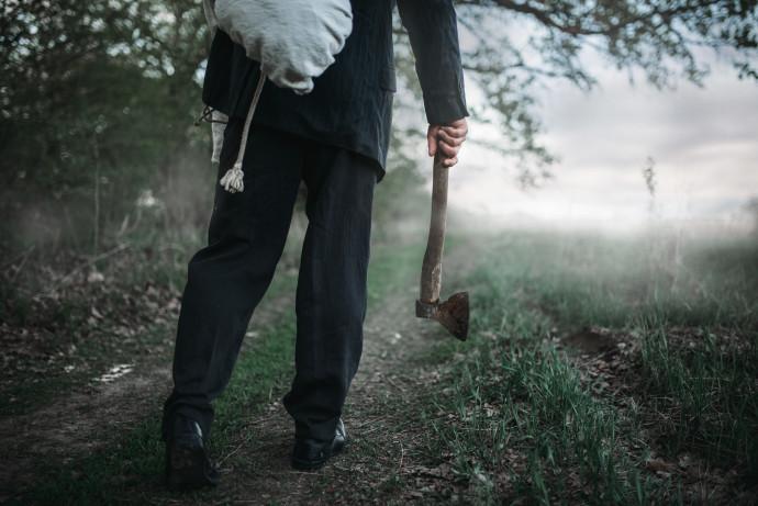 גופה ביער, אילוסטרציה