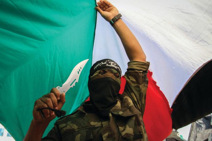 הפגנה ברפיח בזמן אינתיפאדת הסכינים