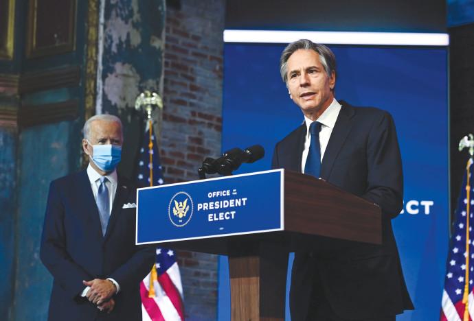 ביידן מציג את שר החוץ החדש אנתוני בלינקן