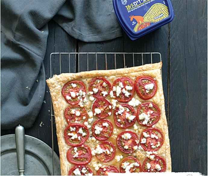 טארט עגבניות וגבינת פטה