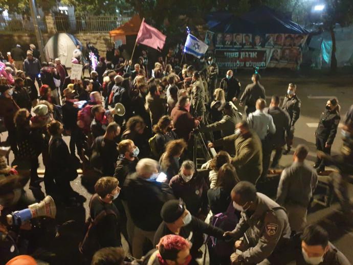 """אחד מראשי מחאת בלפור חשף: מפלגה חדשה תוקם """"ברוח המחאה"""" 610440"""